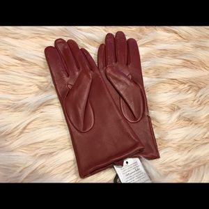 Women's butter soft leather driving gloves